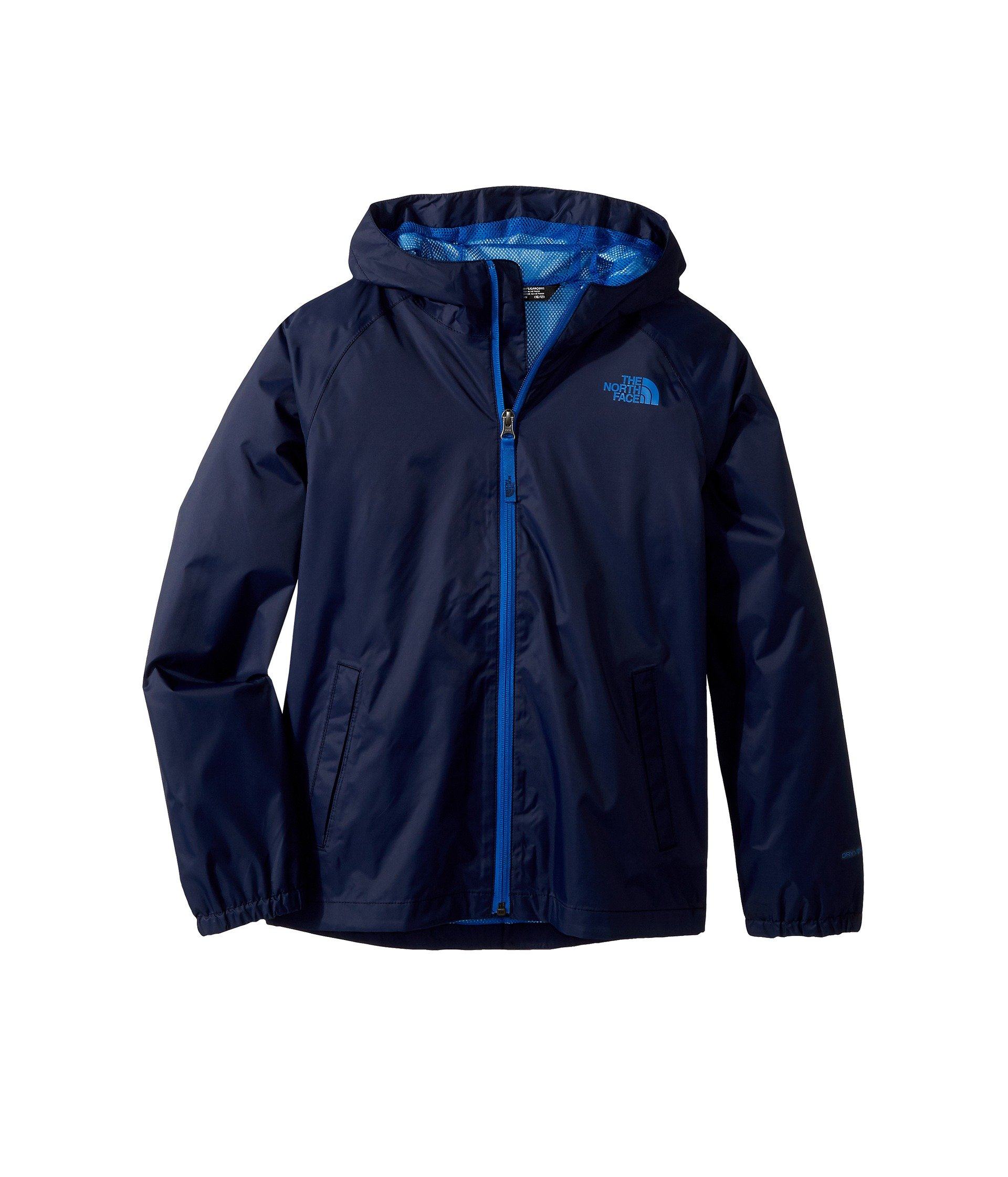 The North Face Kids Boy's Zipline Rain Jacket (Little Kids/Big Kids) Cosmic Blue X-Large