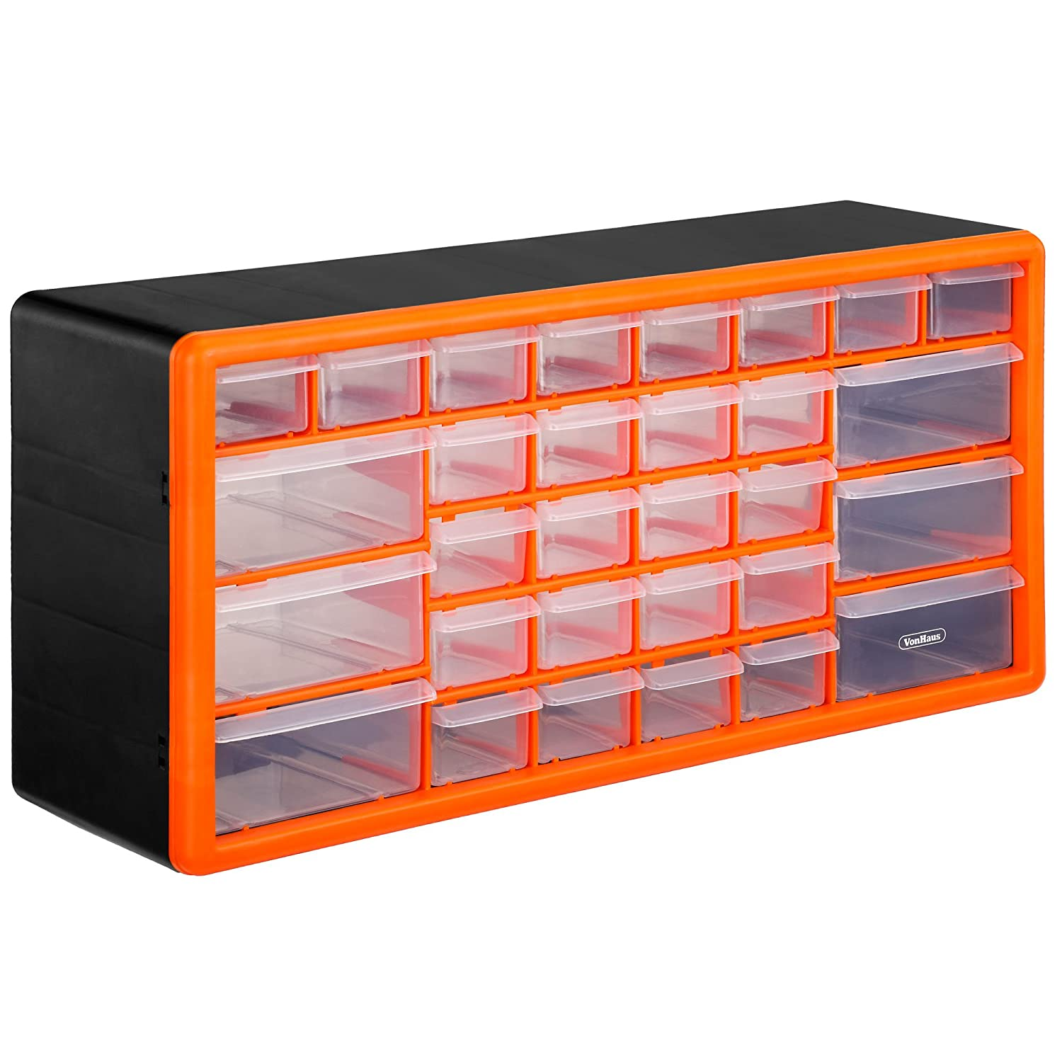 VonHaus 30 Drawer Parts Storage Organiser Cabinet Amazon
