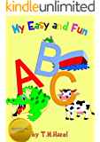 ABC LEARNING BOOK:Beautifully Illustrated Educational,Fun,Easy and Colourful Alphabet Book for 3-5 Year Old Kids ,Perfect for Nursery and Preschool !!!