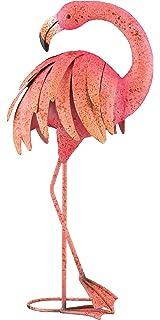 Regal Art U0026Gift Preening Pink Flamingo Standing Art, 25 Inch