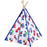 Olive Kids Trains, Planes and Trucks Canvas Teepee