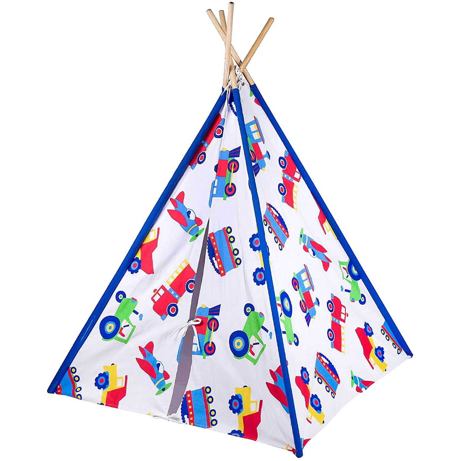 amazon com olive kids out of this world canvas teepee toys u0026 games