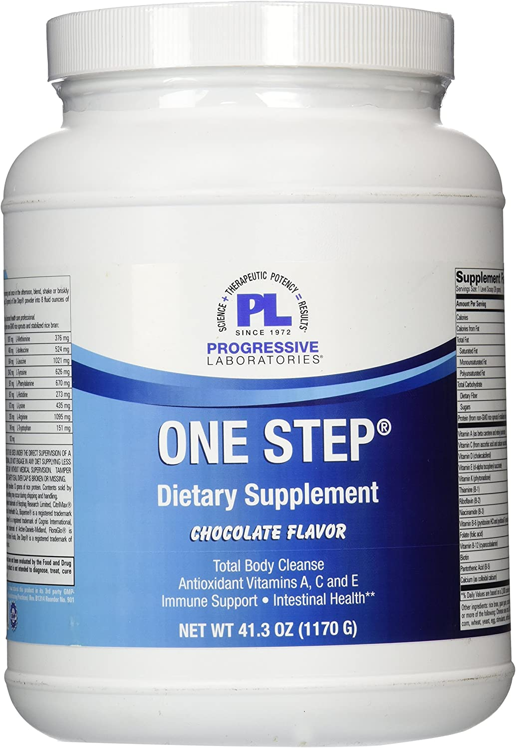Progressive Labs One Step Chocolate Supplement, 41.3 Ounce