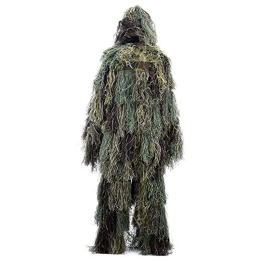 Amazon.com: Boknight Ghillie Traje de leña y bosque diseño ...