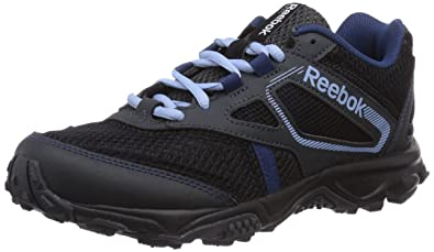 Reebok Trail Voyager RS, Herren Trekking- & Wanderhalbschuhe, Schwarz (Black /Gravel