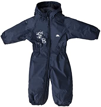 63e911e5a Trespass Kids All In One Padded Rainsuit Dripdrop  Amazon.co.uk ...