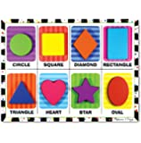 Melissa & Doug 3730 Shapes Chunky Puzzle