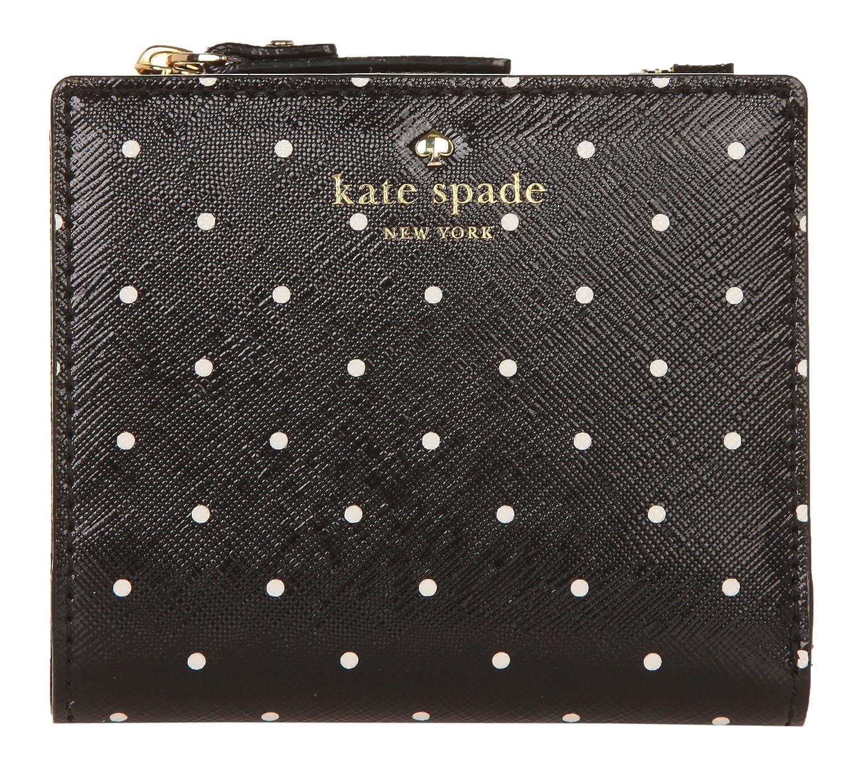 Kate Spade New York Women's Brooks Drive Adalyn Wallet Black/Cream One Size PWRU5832-017