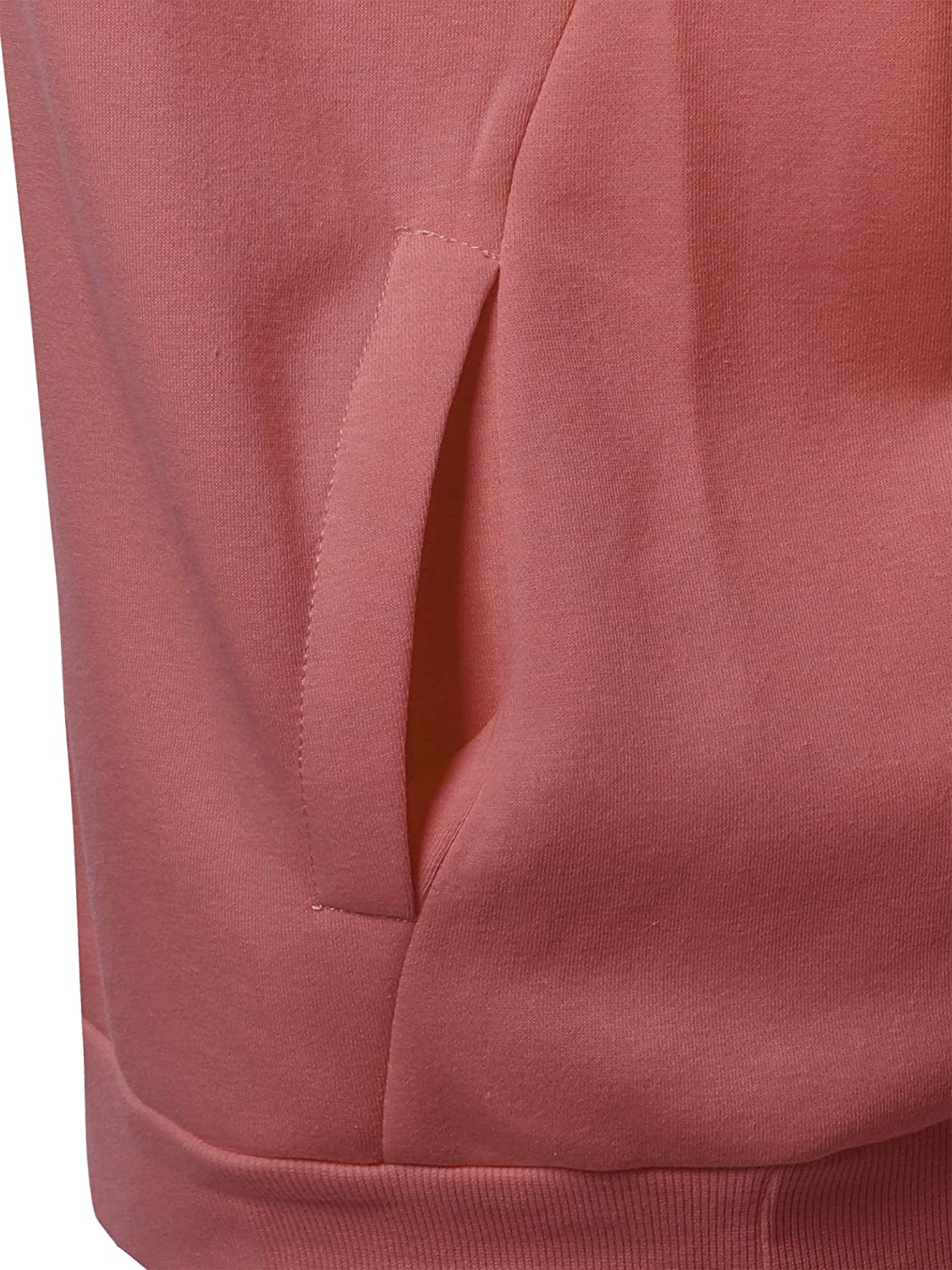 A2Y Womens Relaxed Fit Long Sleeve Crew Neck Side Pocket Sweatshirt