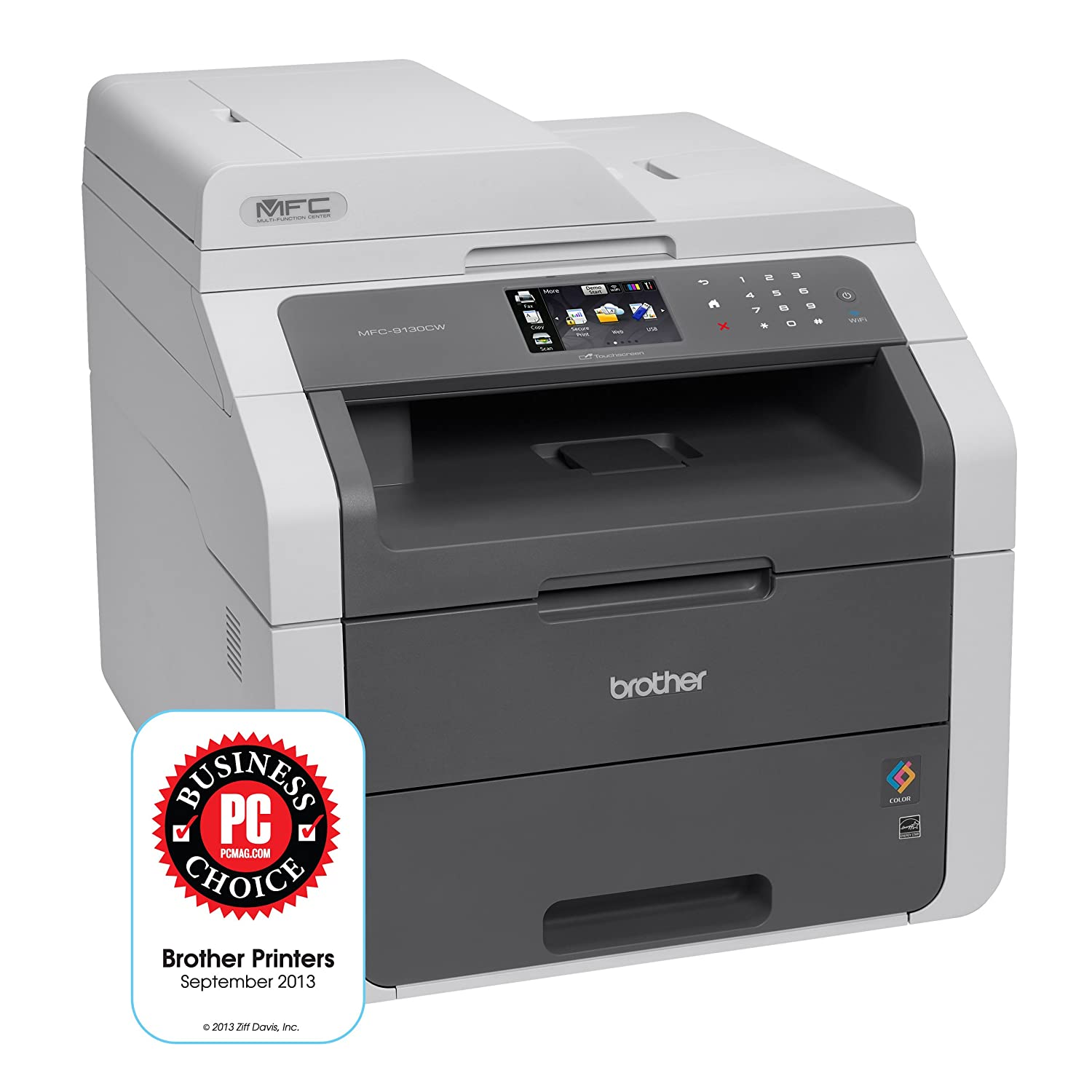 Color printing cost per page in india - Amazon Com Brother Mfc9130cw Wireless All In One Printer With Scanner Copier And Fax Amazon Dash Replenishment Enabled Electronics