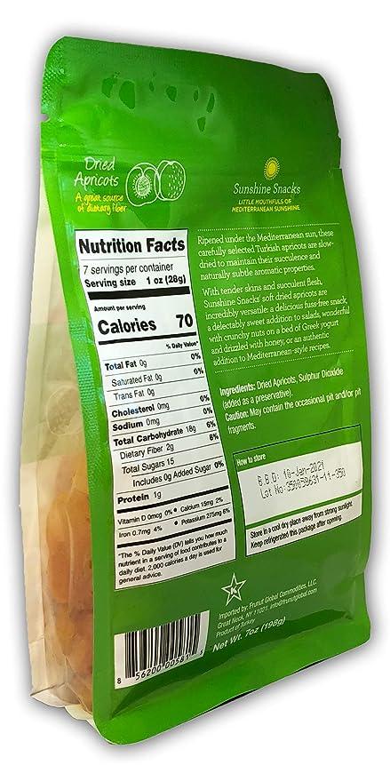 Sunshine Snacks – Albaricates secos al sol (calidad premium ...