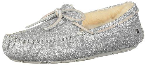 UGG Women s W Dakota Sparkle Slipper Black  Amazon.ca  Shoes   Handbags 7bec8d9f0