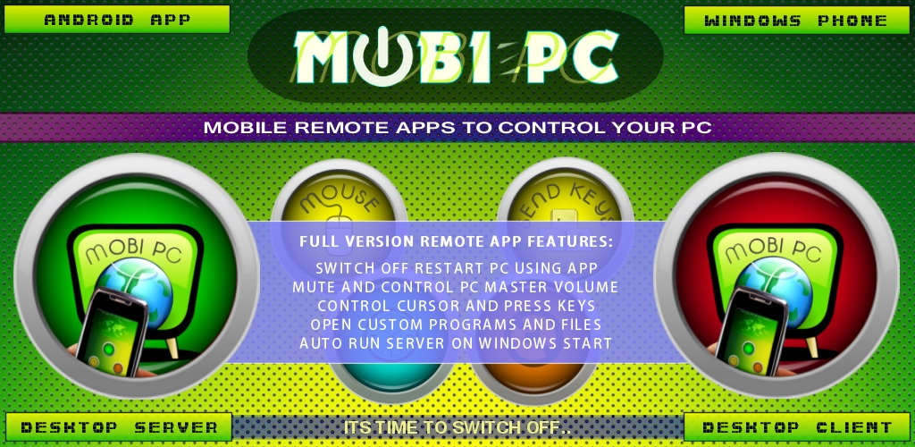Amazon com: Mobi PC Remote Control App: Appstore for Android