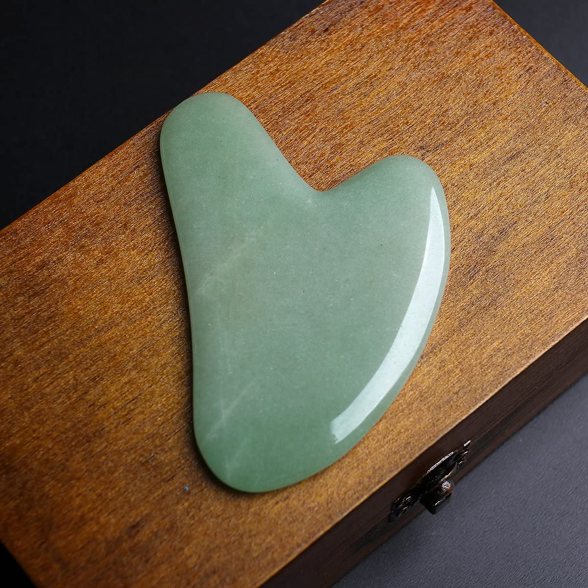 Gua Sha Scraping Massage Tools, Natural Stone Guasha Board for SPA Acupuncture Therapy