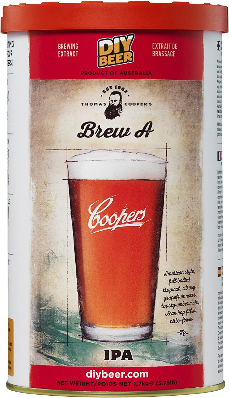 Coopers - Juego de elaboración propia de cerveza casera concentrada