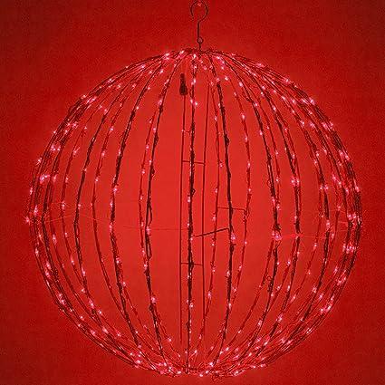 Amazon.com : LED Light Ball - Indoor/Outdoor Christmas Light Balls ...