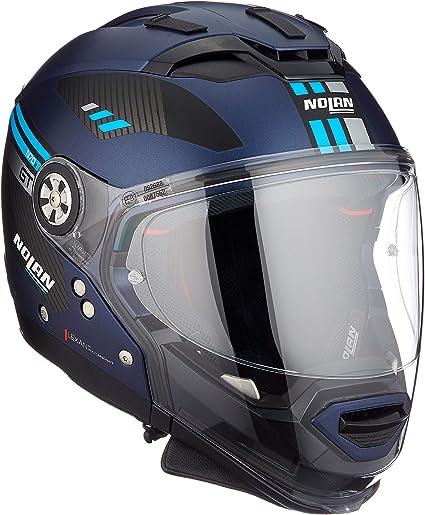 Nolan Herren N70 2 Gt Bellavista N Com Flat Imperator Blue M Helmet M Auto