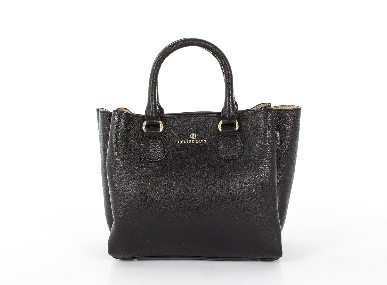 63a55b7dda9c Amazon.com  Céline Dion Adagio Satchel Leather (Black)  Shoes