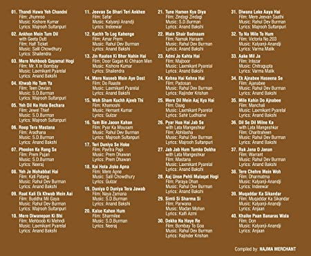 Shades Pack 67 (Pack Of 5 Mp3S With 200 Tracks, Biggest Artists, Retro  Collection, Compilation Of Old Hindi Movie Songs)