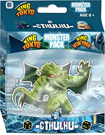 Monster Pack - Cthulhu 01: Garfield, Richard, Iello, Polouchine, Igor, Torres, Régis, Wolff, Anthony: Amazon.es: Juguetes y juegos