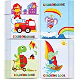 """Incredible Value Coloring Books for Kids - Epic Bulk Party Pack of 24 Awesome Coloring Books 5""""x7"""" With Animated Cartoons"""
