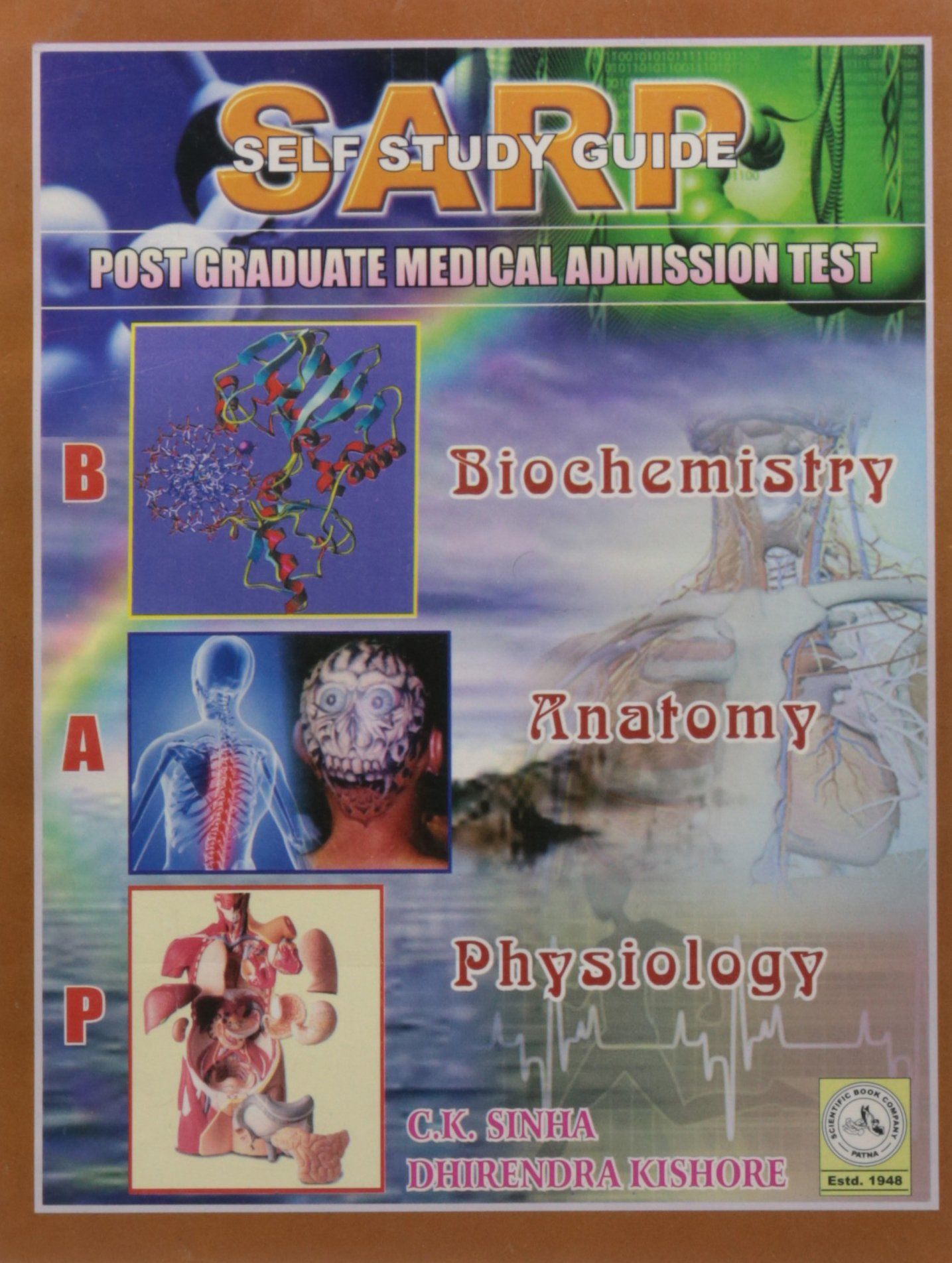 Buy Sarp Biochemistry Anatomy Physiology 7Ed (Pb 2012) Book Online ...
