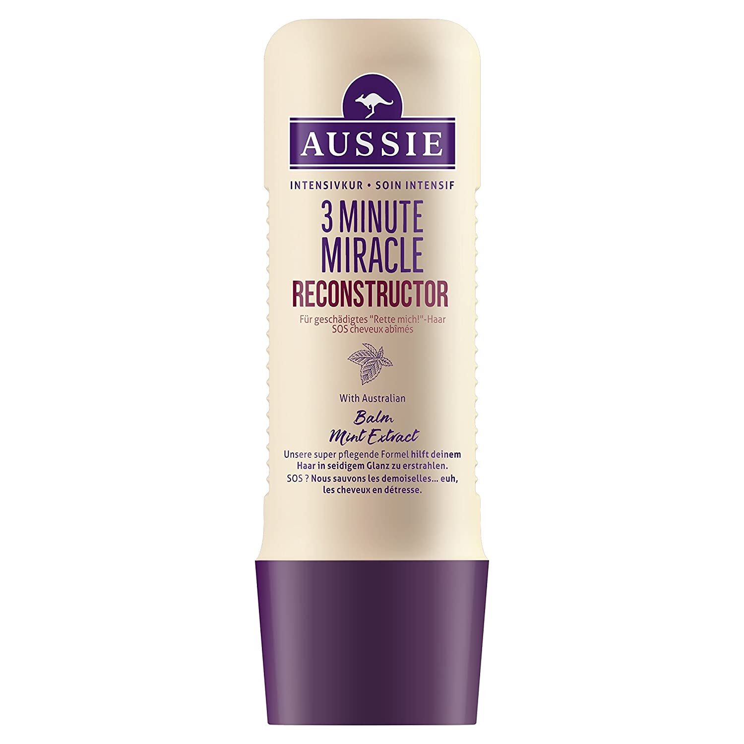Aussie 3 Minute Miracle Reconstructor Intensivkur 1er Pack (1 x 250 ml) Procter & Gamble 3 minutes miracle