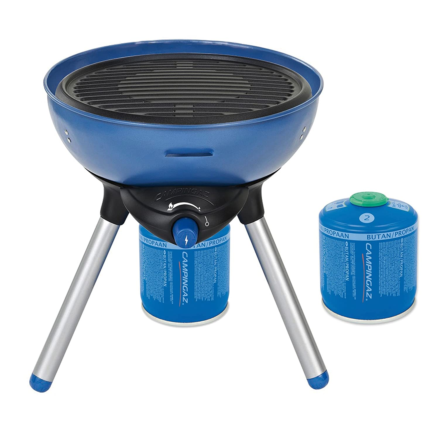 campingaz party grill 200 bundle inklusive 2x cv300