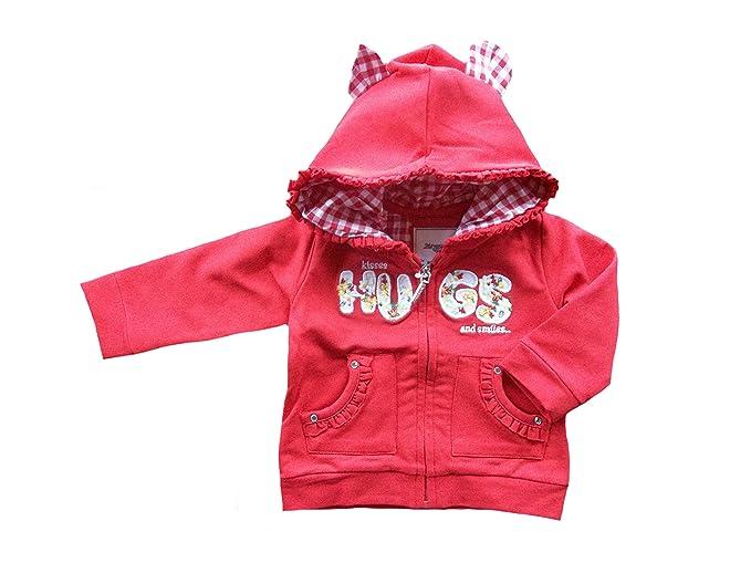 Mayoral - Abrigos - para bebé niña rojo 80 cm: Amazon.es: Ropa y accesorios