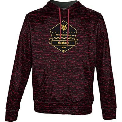 ProSphere Boys' Hughson Fire Protection District Fire Department Brushed Hoodie Sweatshirt