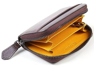 684a842fd944 [レガーレ] ブライドルレザー キーチェーン付 コインケース 財布 クリスマス ギフト (ブラウン×