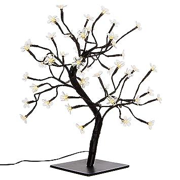 Led Weihnachtsbeleuchtung Baum.Nipach Gmbh 48 Led Baum Mit Blüten Blütenbaum Lichterbaum Warm Weiß 45 Cm Hoch Trafo Ip20 Weihnachtsbeleuchtung Weihnachtsdeko Lichterdeko Xmas