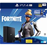 PS4 Pro 1TB Console Fortnite Neo Versa Bundle + 2000 V-Bucks, Pro Black (Fortnite)