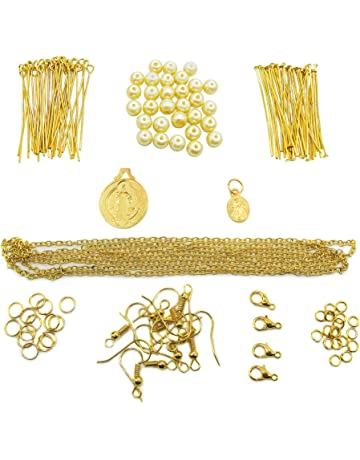 Chinese Sliver and Golden Hair Accessories Materials Metal Plates 50 Grams DIY