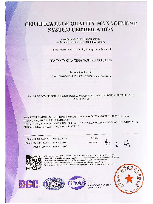 YATO YT-1227 Toma de 14 mm 1//26 pt cv profunda