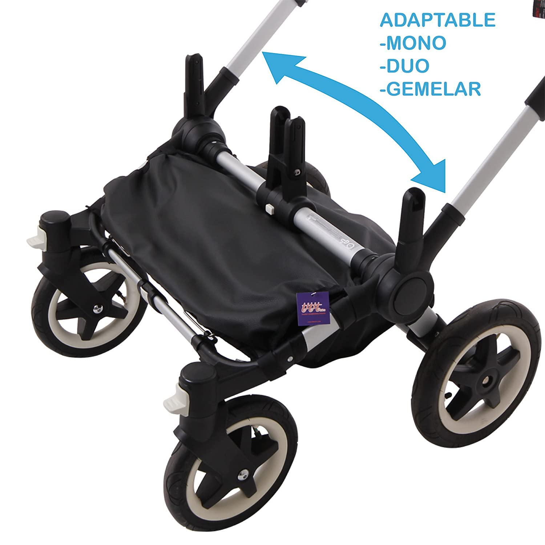 Tititnins© - Cubre Cesta para Bugaboo Donkey 2 NAPA NE (Impermeable): Amazon.es: Bebé