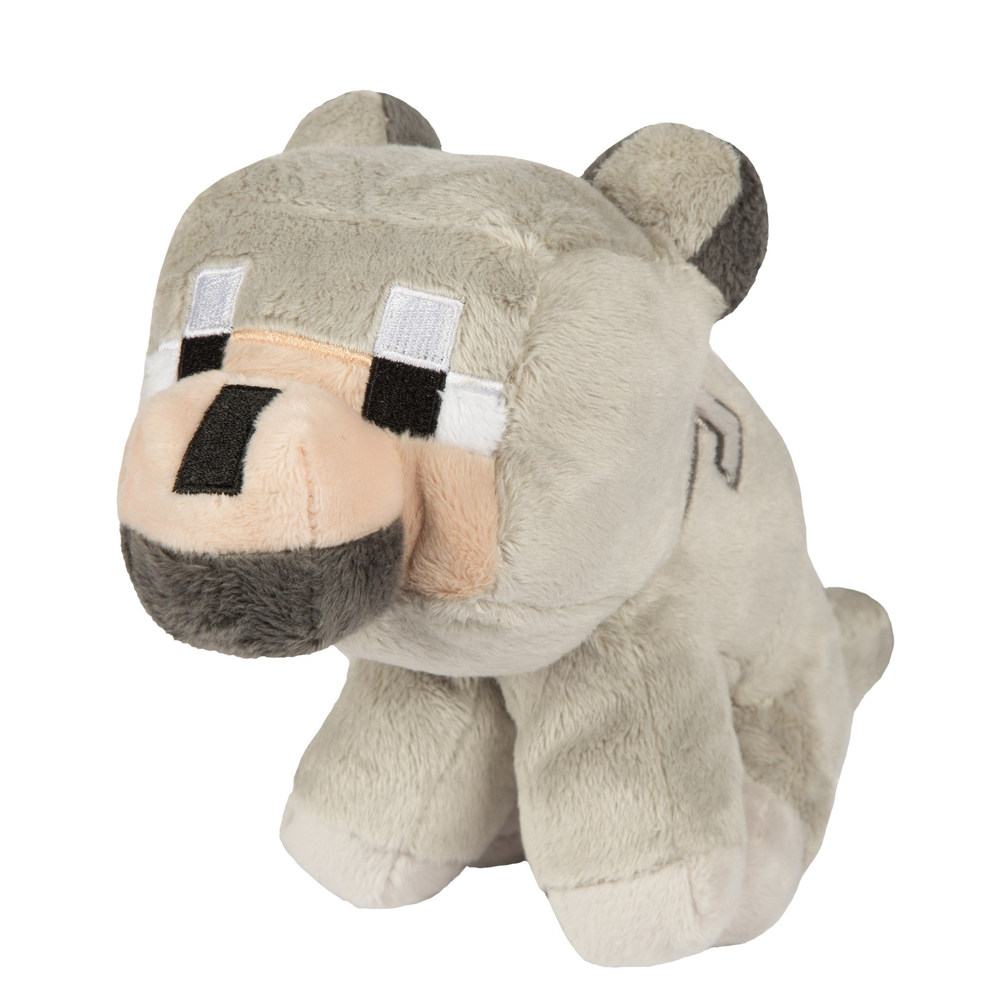 JINX Minecraft Baby Wolf Plush Stuffed Toy