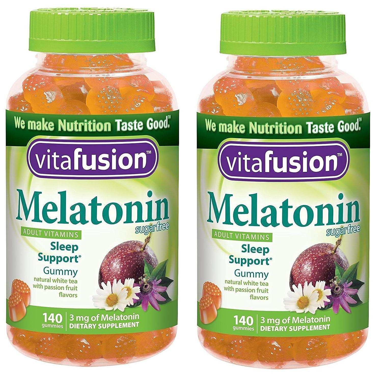 Amazon.com: Vitafusion Melatonin Gummies 280 Count: Health & Personal Care