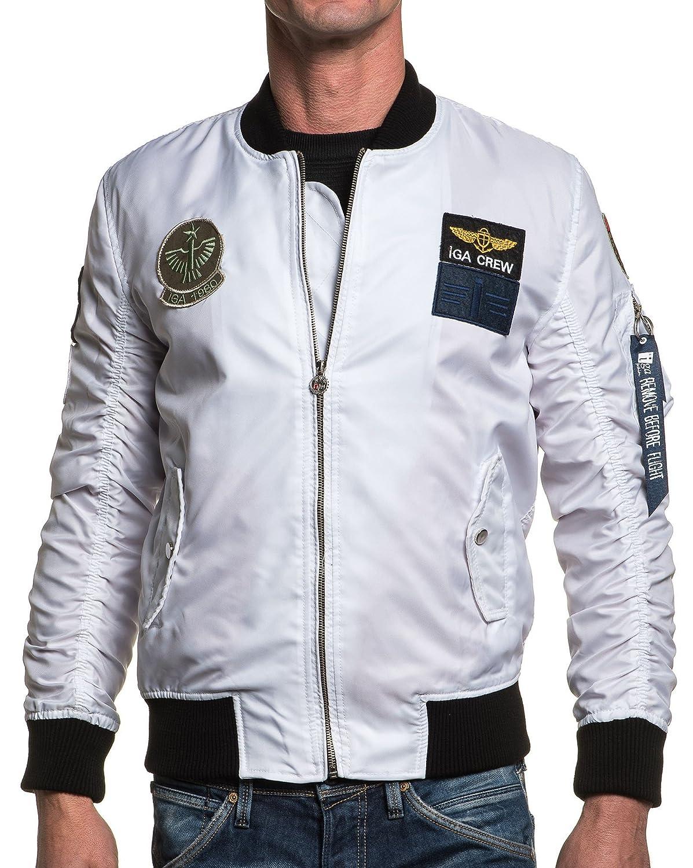 BLZ jeans - Bombers man white shield trend