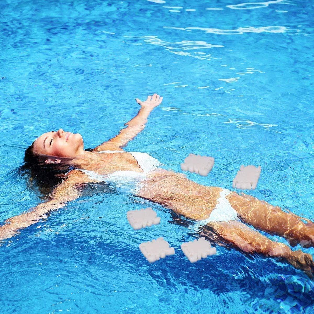 limpieza de tu piscina jacuzzis y suministros de tratamiento de spa NOBRAND Esponja de absorci/ón de aceite para piscinas jard/ín y exteriores absorbe aceites y escoria.