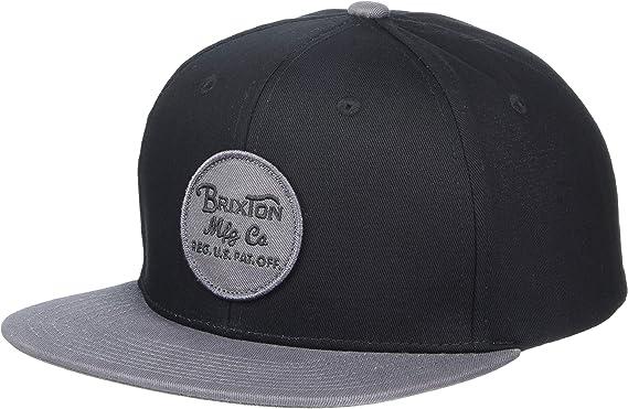 BRIXTON Wheeler Snapback Gorra de béisbol Unisex Adulto: Amazon.es ...