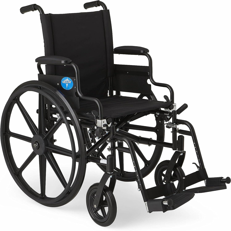 B0014XEGBG Medline MDS806500N K4 Lightweight Wheelchairs 81X6HTvoPVL