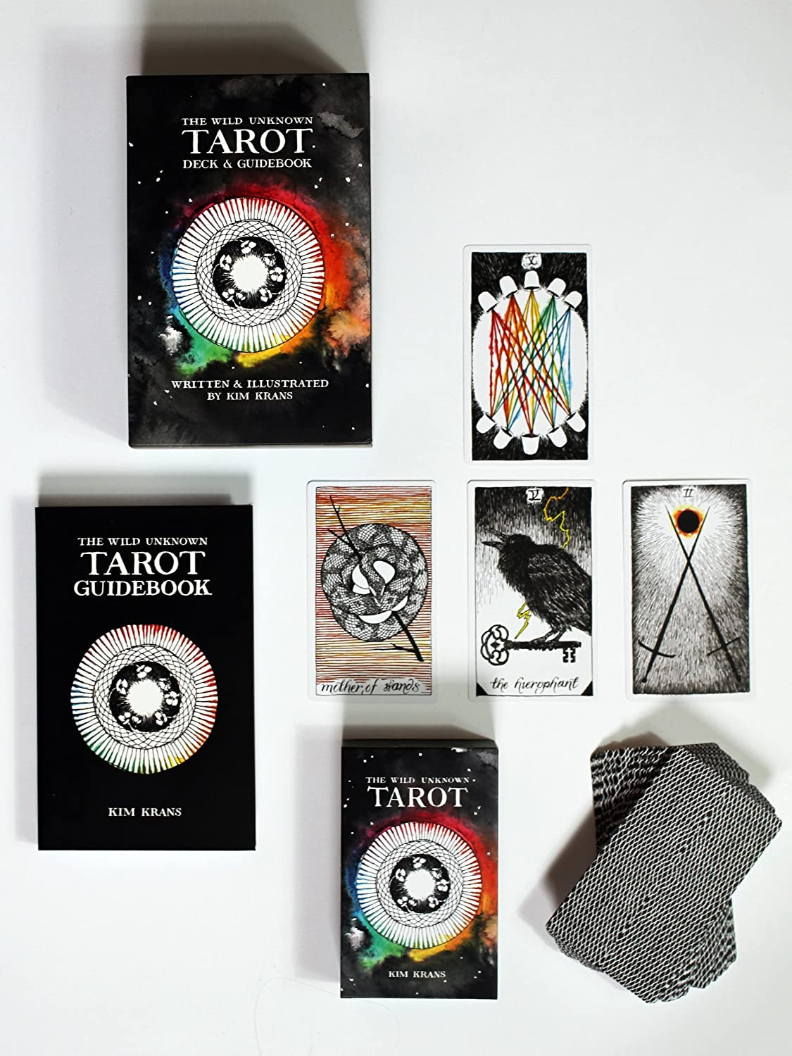 The Wild Unknown Tarot Deck And Guidebook: Krans Kim, Krans Kim ...