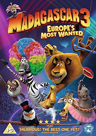 Madagascar 3: Europes Most Wanted (Non USA Format Region 2 DVD + Keep Calm