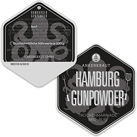 Ankerkraut Hamburg Gunpowder, 90g