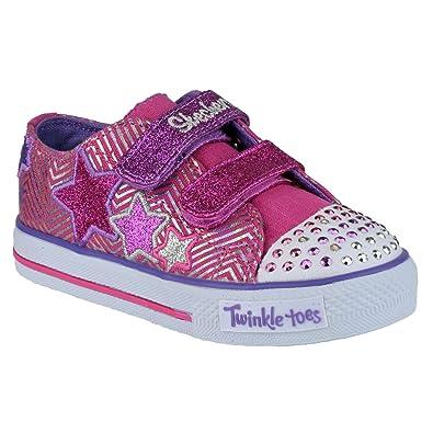 Skechers Mädchen Schuhe Twinkle Toes S Lights SK10249N (21