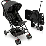 Portable Folding Lightweight Baby Stroller - Smallest Foldable Compact Stroller Airplane Travel ,Compact Storage , 5-Point Sa