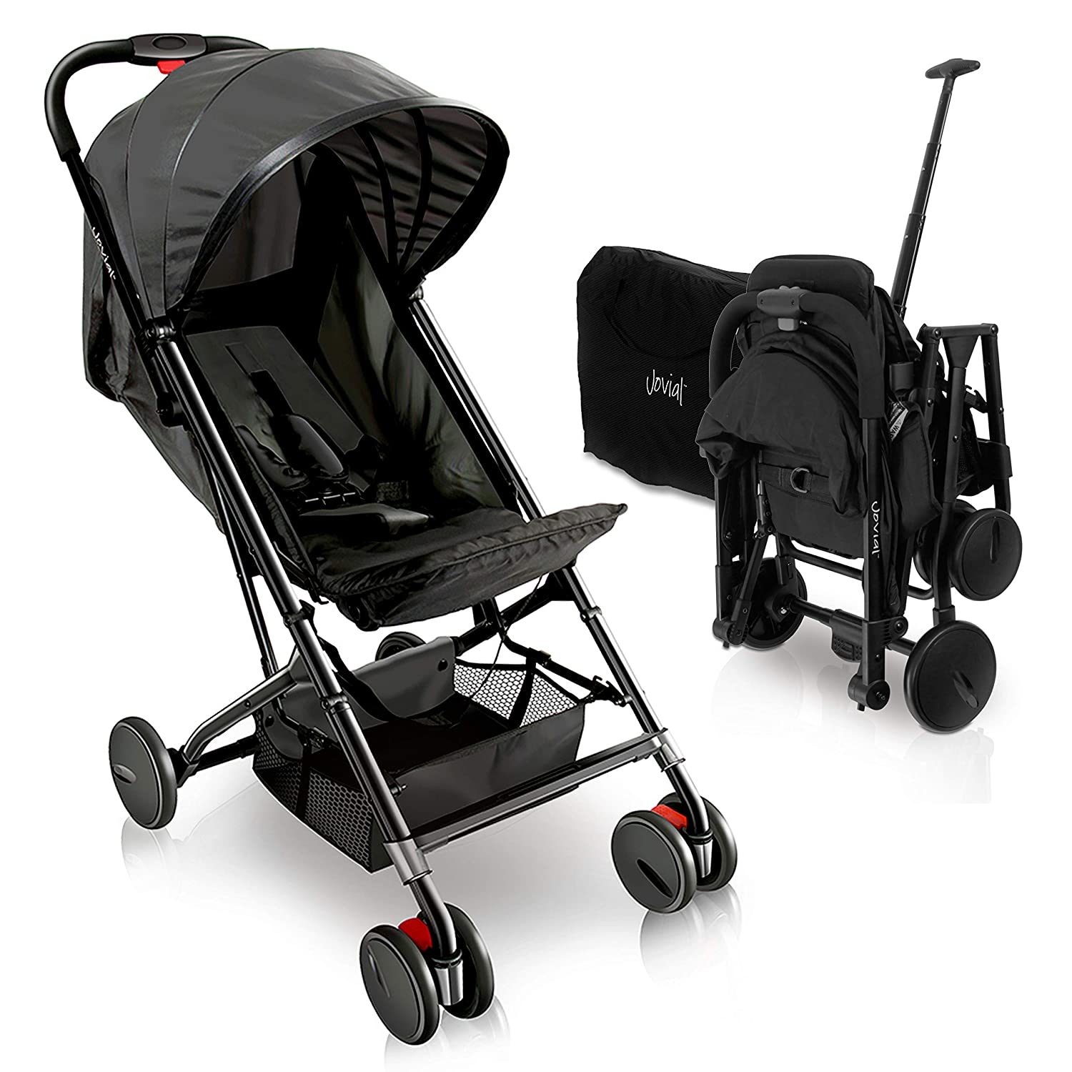 LXJ Stroller,high Landscape,Childrens Trolley with Universal Wheels,Portable Foldable,Compact Travel Trolley,Suitable for Traveling and Shopping,Blue Color : B