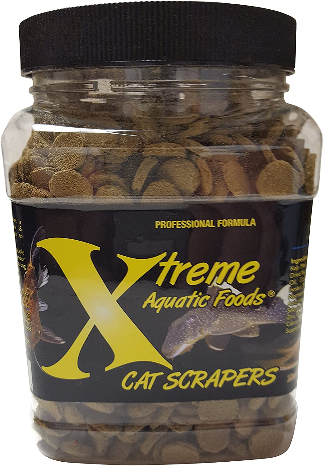 Xtreme Aquatic Foods 2223-E 9mm Cat Scrapers Disk, 18 oz