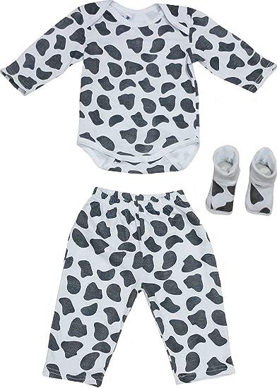 a02708e8f61d Amazon.com  Baby Pants Onesies Clothes Set Animal Print for Infant Unisex  Light Blue - Black  Clothing